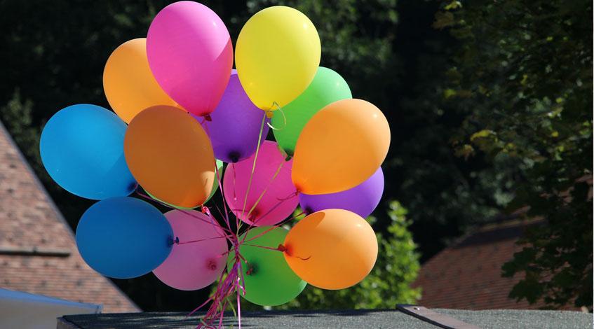 Cómo decorar una fiesta con globos en Madrid
