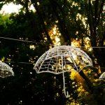 Fiesta de comunión en el jardín