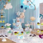 Un baby shower en las nubes para David