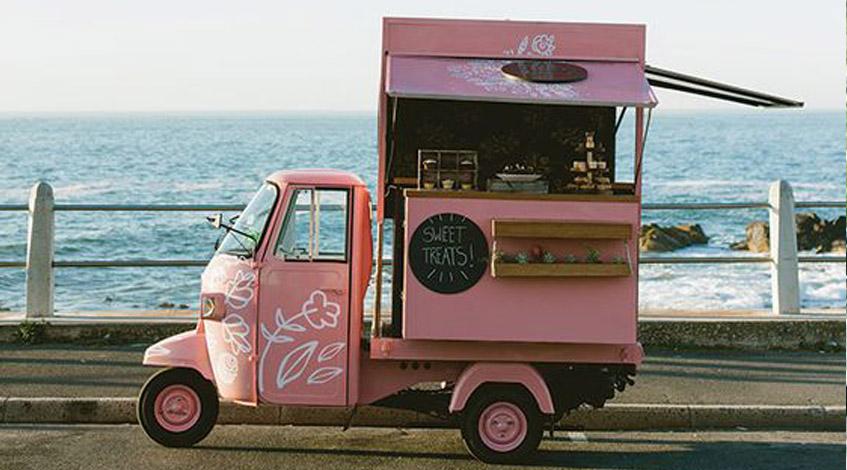 Un food truck en tu evento camioneta comida boda