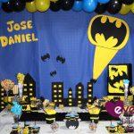 ¡Un cumpleaños temático para un pequeño Batman!
