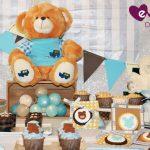 Lluvia de osos para el baby shower del pequeño Lucca