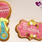 Dulces galletas para el baby shower de Salma