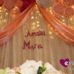 El tierno bautizo de Amalia María