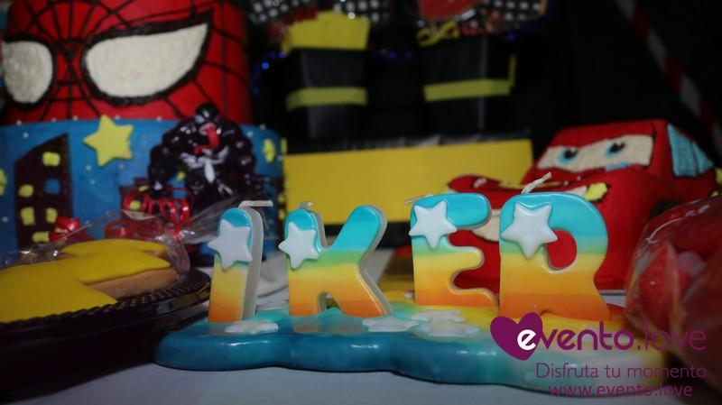 Fiesta de cumpleaños Spiderman