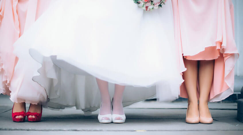 Evento Love Dama de honor novia funciones en una boda