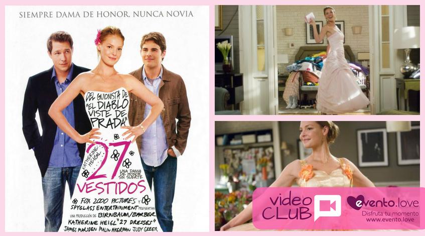 27 vestidos: la dama de honor es la wedding planner boda película novia