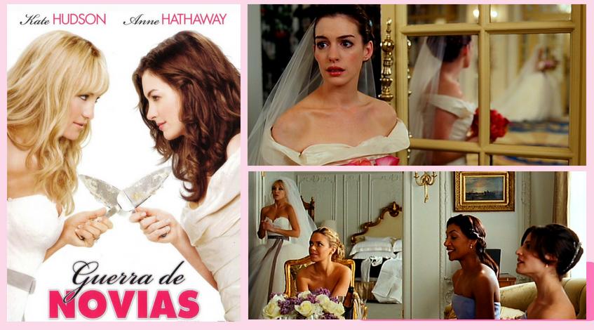 Guerra de novias película vestido boda