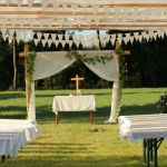 Elementos imprescindibles en la ceremonia de boda: altar, iluminación, música…