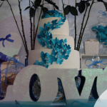Una boda con rosas azules: el enlace de Exklelly y Franco