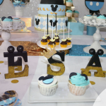 Bautizo con Mickey Mouse: una preciosa celebración para César en Madrid
