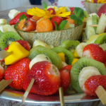 Ideas de catering para celebrar un baby shower en verano