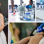 La boda con rosas azules de Exkllely y Franco