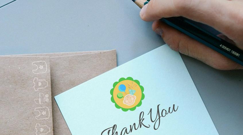 frases de agradecimiento para un baby shower bebé embarazada fiesta regalos invitados gracias Madrid mano carta escribir