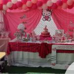 Baby shower de Hello Kitty para la pequeña Gabriela