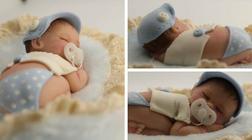bebes personalizados figuritas Madrid baby shower detalles regalos invitados