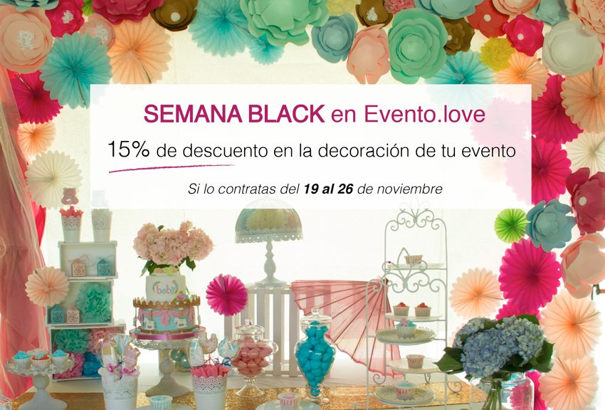 Promoción Black Friday Evento.love