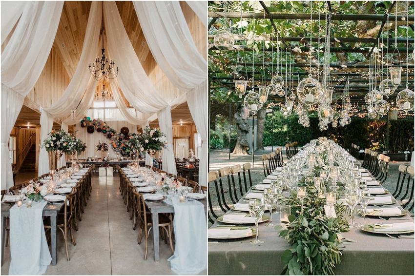 mesas boda