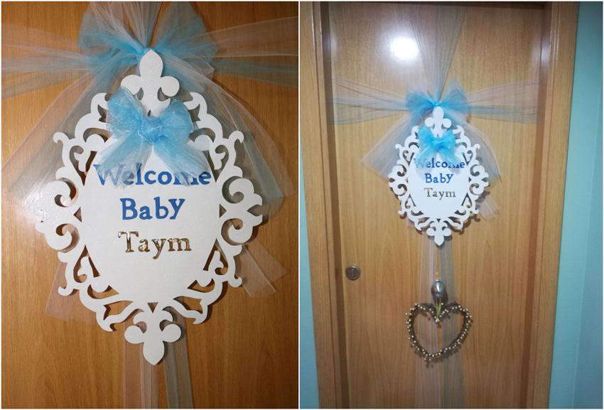 fiesta de bienvenida del bebé