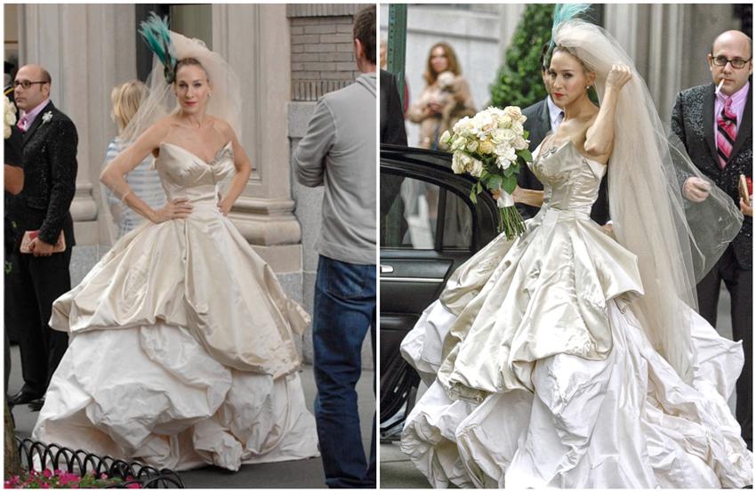 Novias de cine Los mejores vestidos de novia