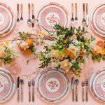 5 tendencias en decoración de mesas de boda