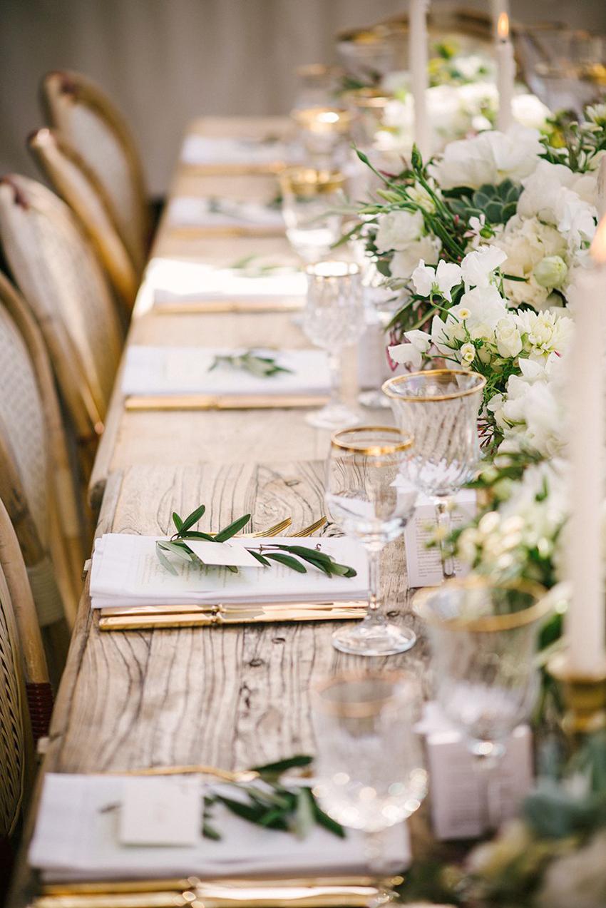 decoración mesas boda