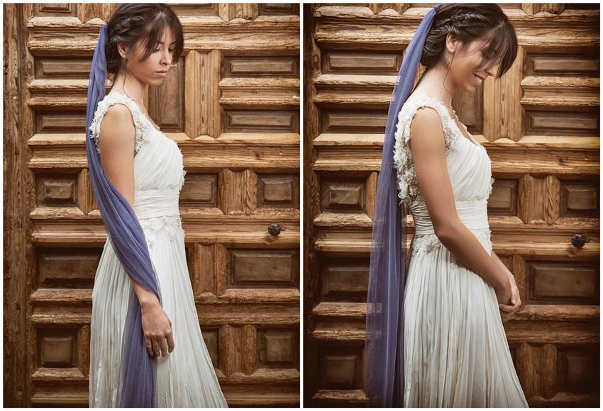 Vestido de novia algo azul