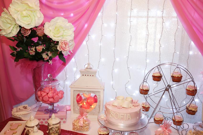 baby shower rosa