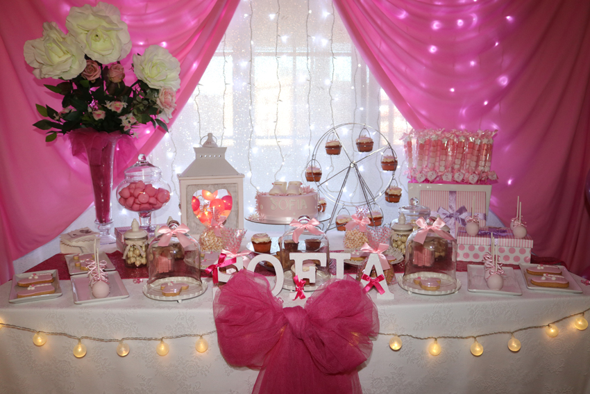 baby shower rosa