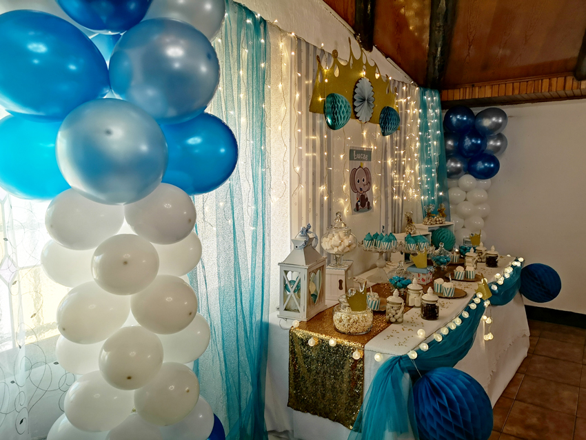 Un Baby Shower Celeste Para Lucas Blog De Eventolove