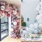Decoración con globos para tu boda, la última tendencia
