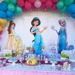 El cumpleaños de princesas de Adriana