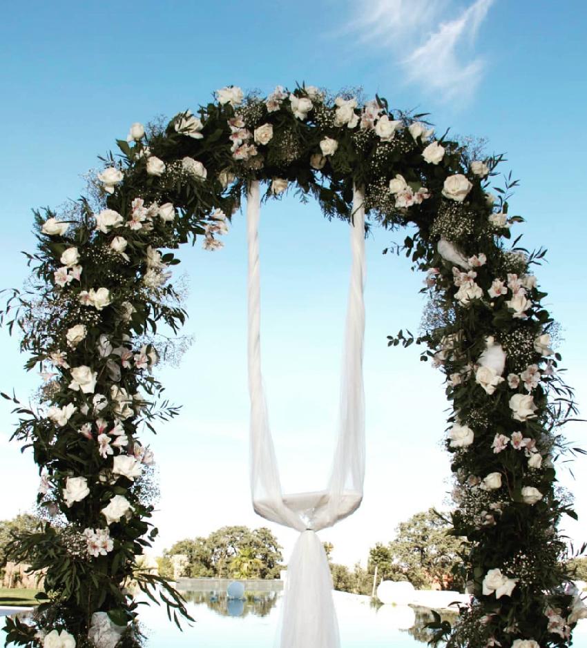 boda en blanco