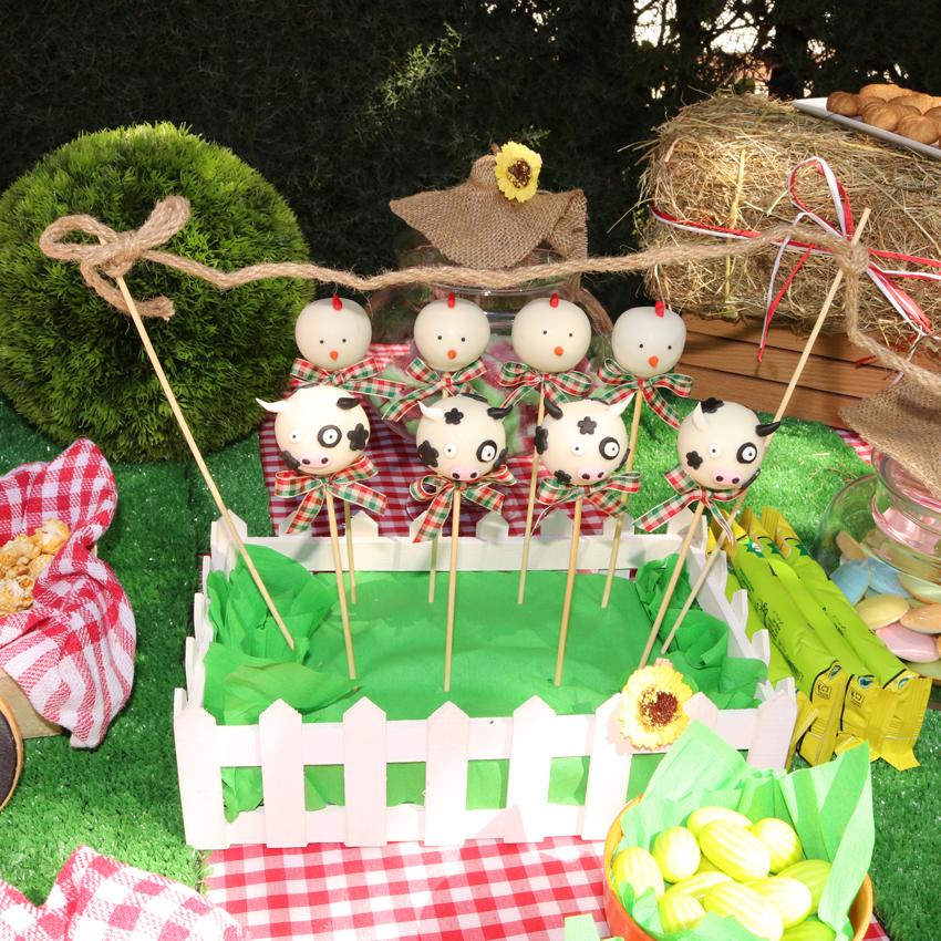 cakepops de animales