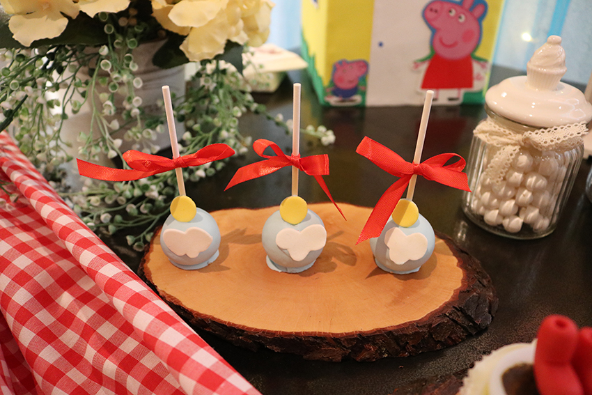 cakepops Peppa Pig