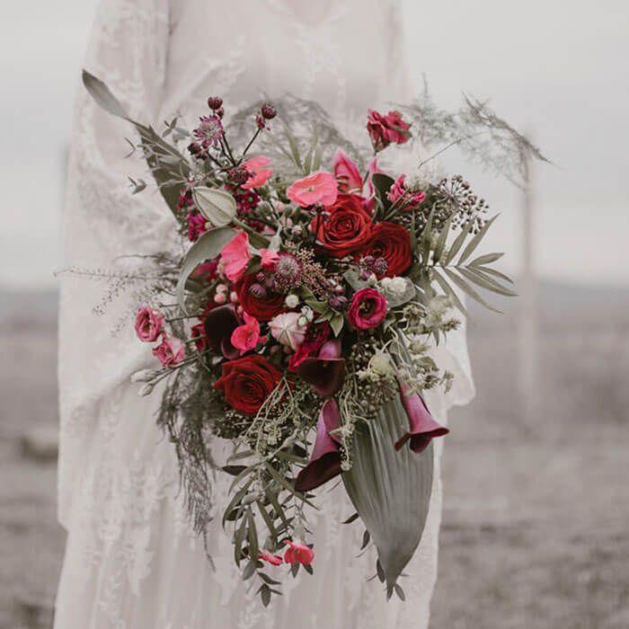 ramos de novia para una boda de otoño