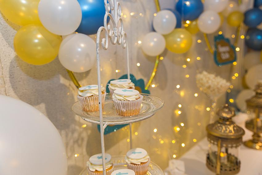 cupcakes para bautizo
