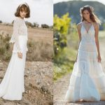 6 vestidos para una novia boho chic