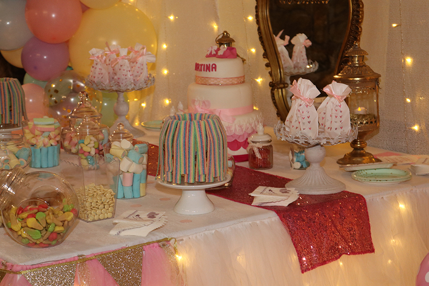 baby shower en tonos pastel