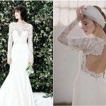 5 vestidos de novia con manga larga ¡ideales!
