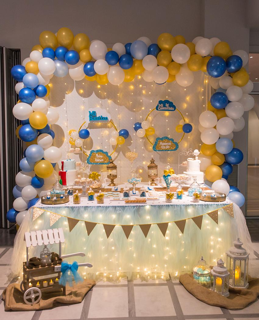 mesas dulces para bautizos