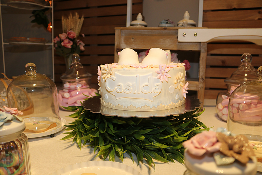 tarta de baby shower
