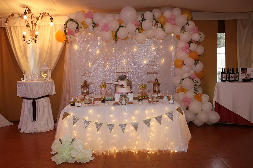 decoraciones con globos de colores