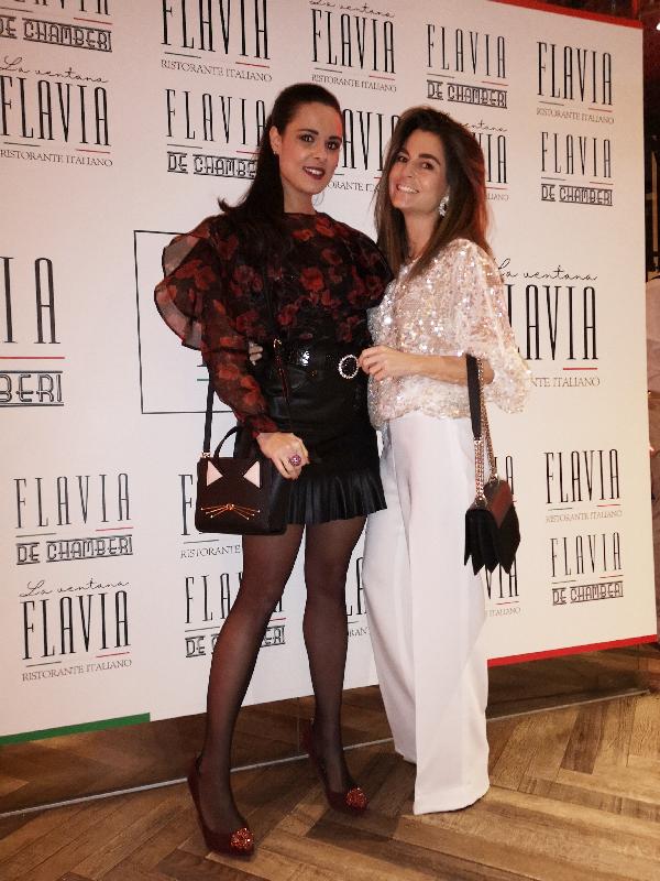 inauguración restaurante Flavia