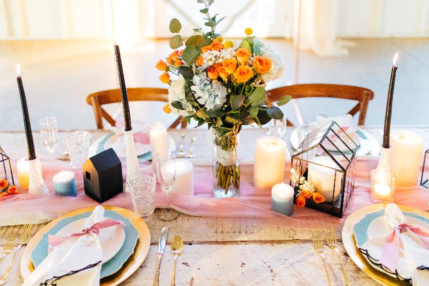 decorar las mesas
