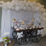 Tendencia glam chic: globos para decorar tu boda