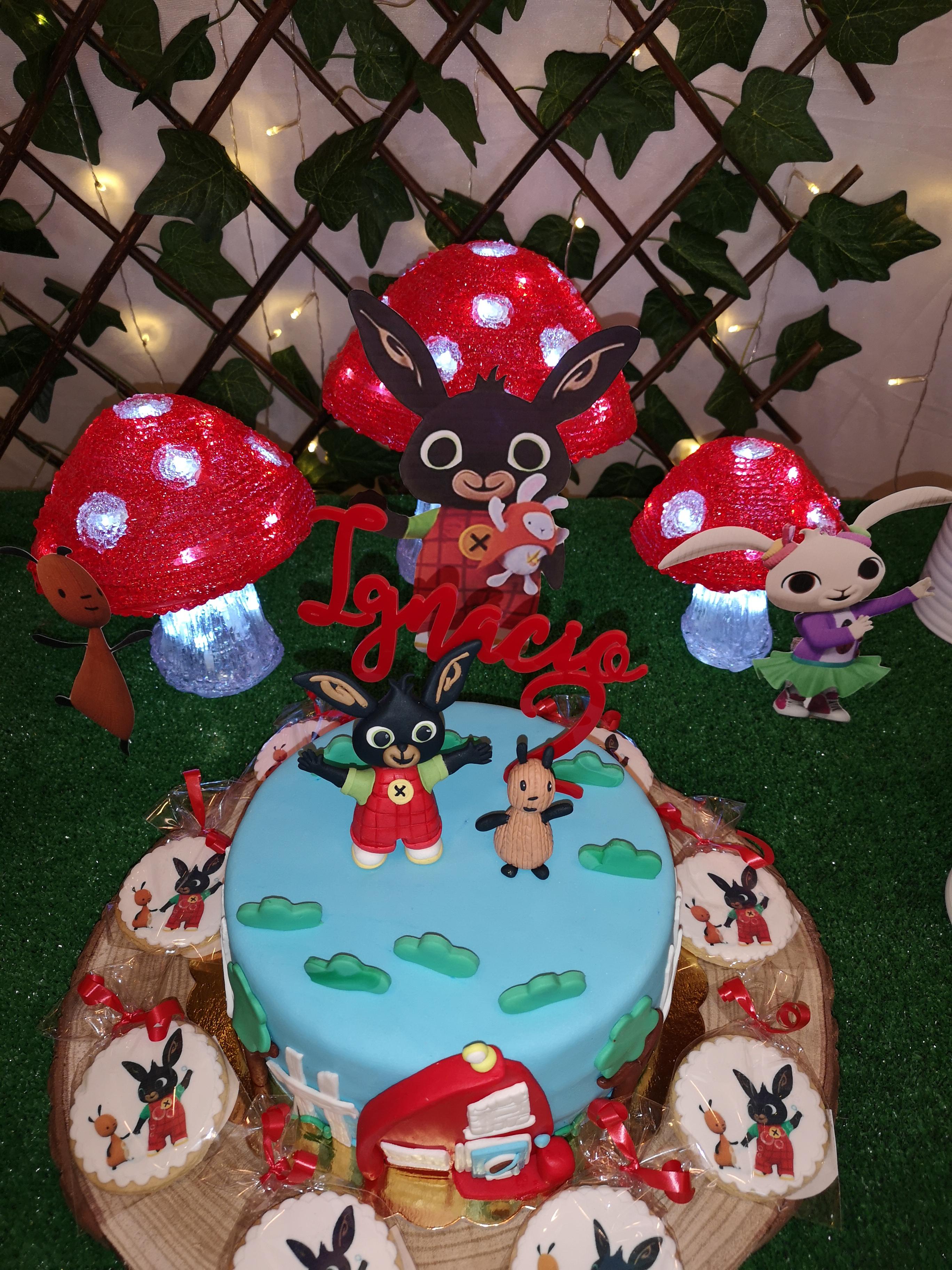organizacion cumpleaños conejito bing organizador eventolove