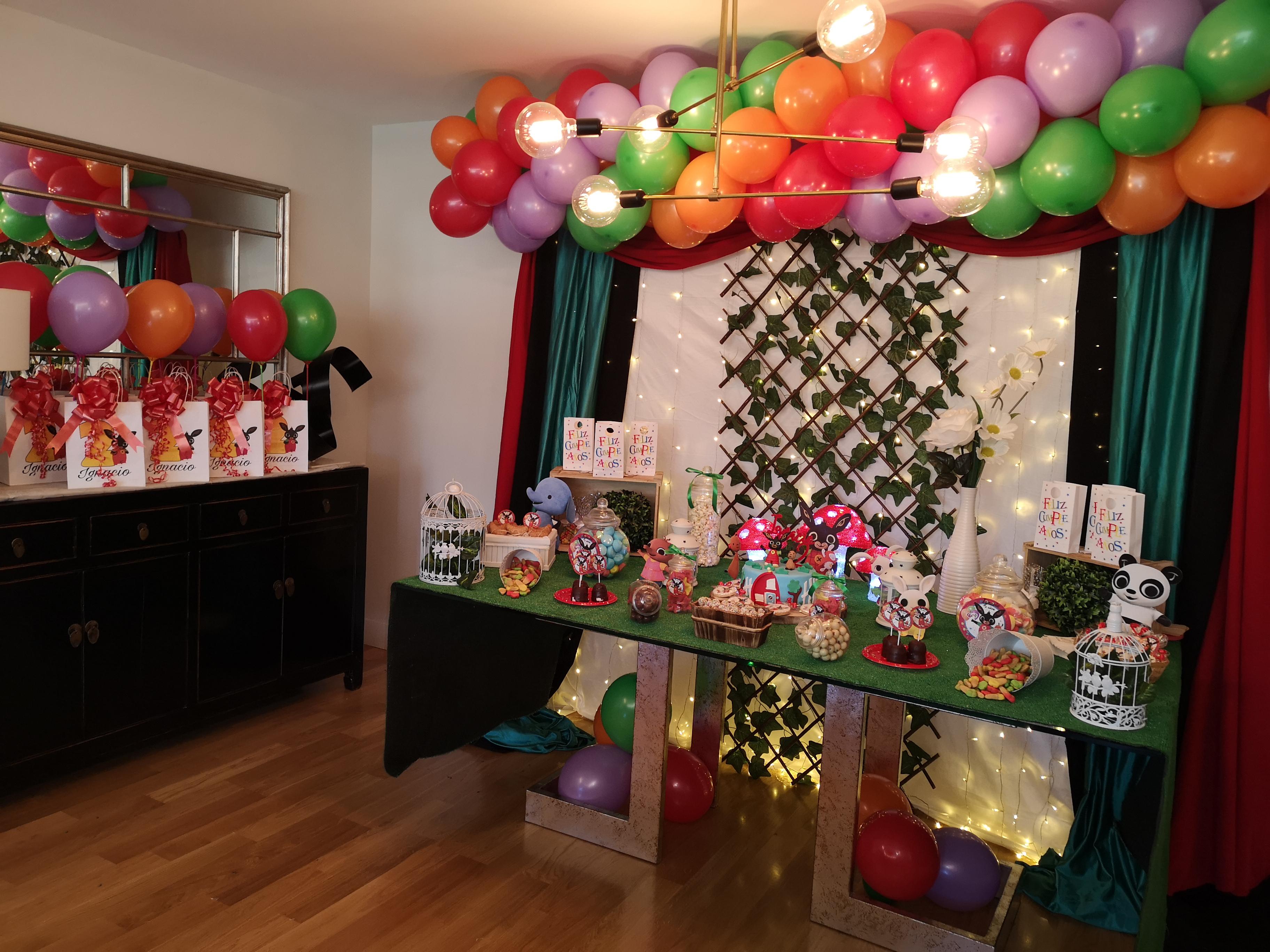 eventelove cumpleaño sorpresa conejito bing eventplanners organizaciondecumpleaños