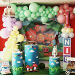 Inolvidable primer cumpleaños de Nico inspirado en Coco Melon