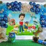 La Patrulla Canina no podía faltar en el cumpleaños del pequeño Rodrigo